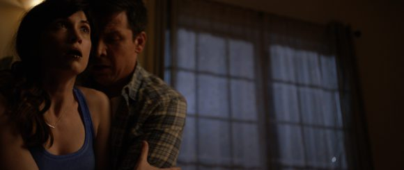 "Sarah Wilson and Kris Cusick in ""The Catalyst"""