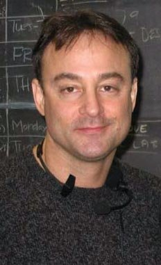 Writer and director, Alan Fine