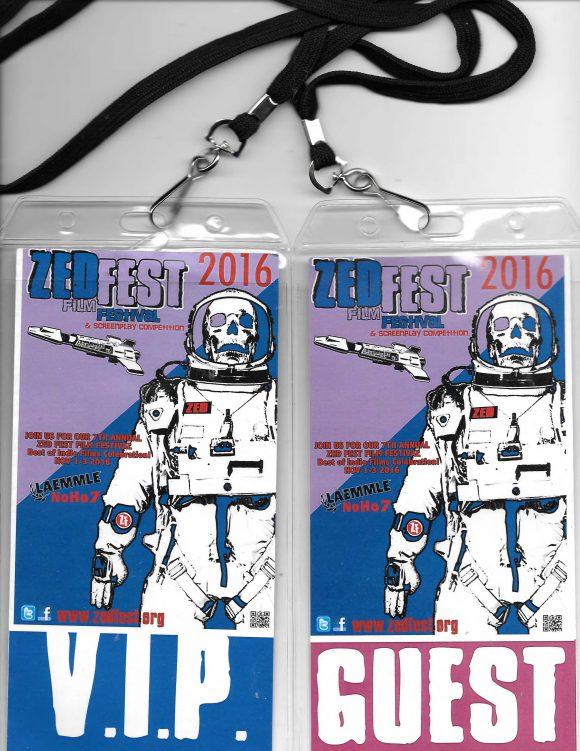 Zed Fest Film Festival passes