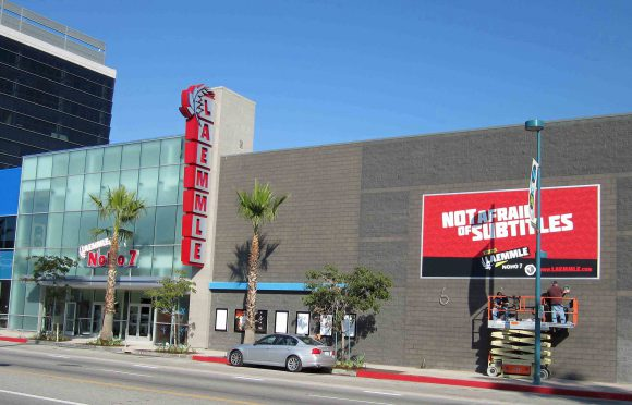 The Laemmle 7, North Hollywood, home of Zed Fest Film Festival 2016