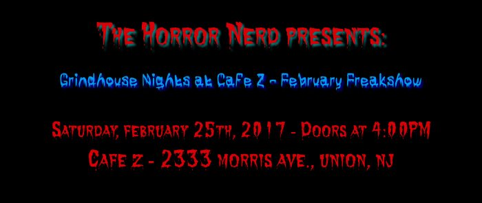 """""""The Catalyst"""" at Grindhouse Nights at Cafe Z"""